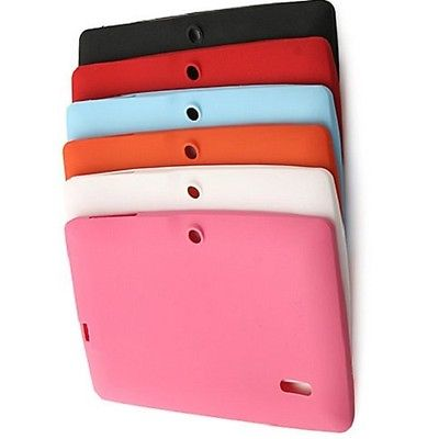 "7"" INCH SILICONE RUBBER CASE FOR ANDROID TABLET ALLWINNER A13 A23 A33 Q88 GIFT"
