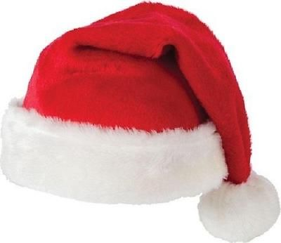 Unisex Father Christmas Hats XMAS Santa Family Hats Adult/Kid